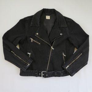 Gap Denim Motorcycle Jacket